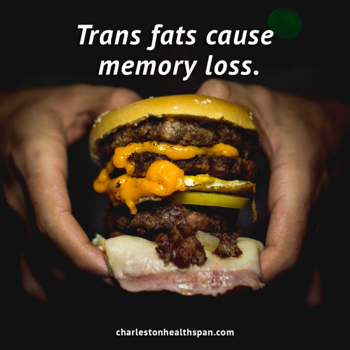 Trans Fat Cause Memory Loss