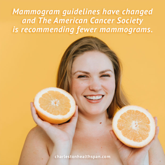 The American Cancer Society has changed mammogram guidelines