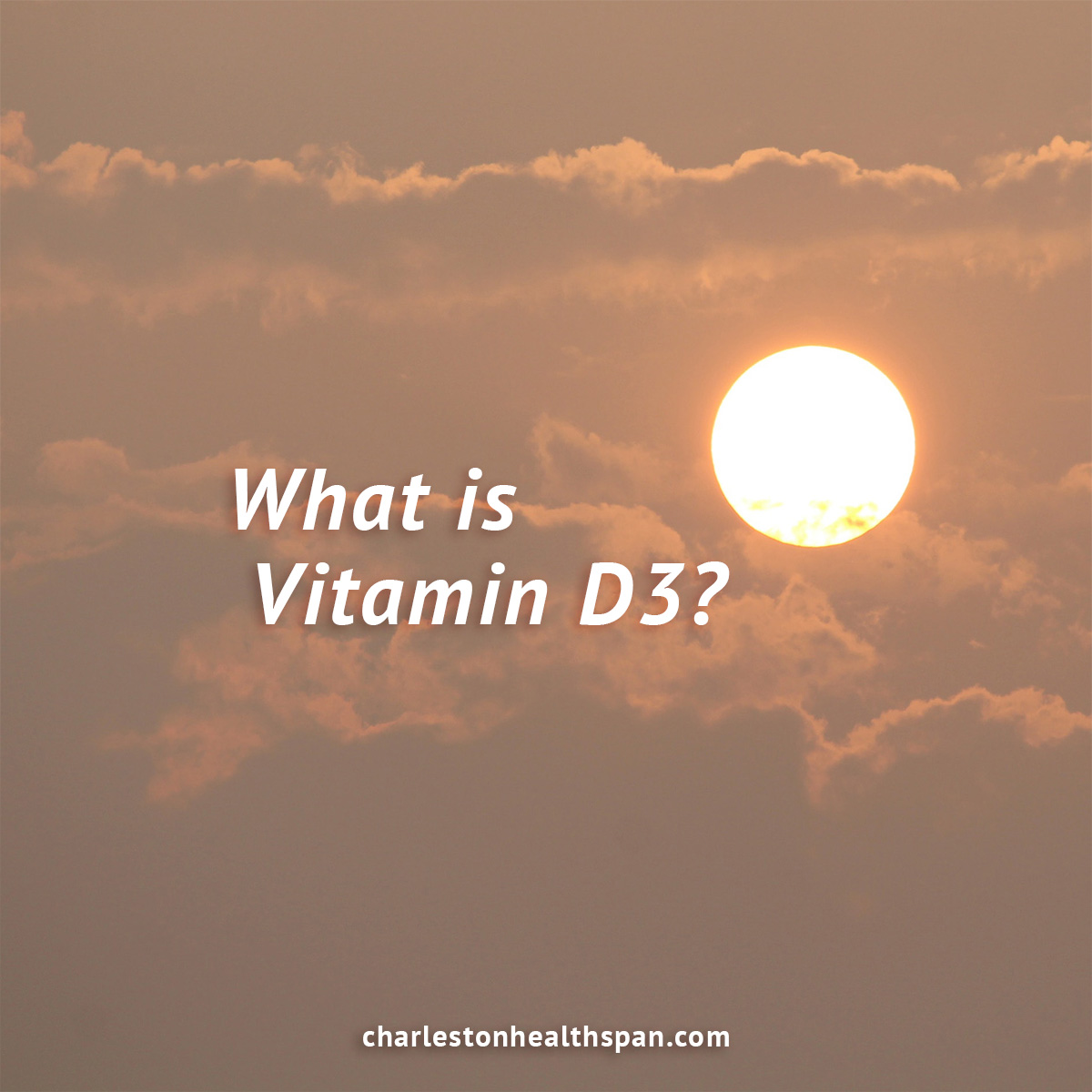 vitamin d3 is a hormone produced from the sun